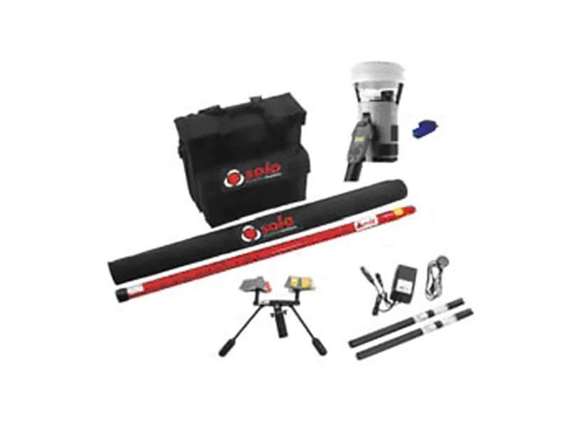 Kit pro kouřové hlásiče, kouřová a mont. hlavice včetně tyčí v brašně