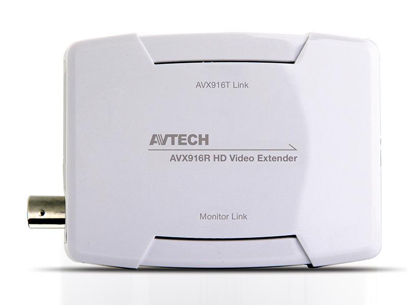 AVX-916R, převodník (přijímač) pro přenos signálu (HDMI, USB - myš) po koaxiálním kabelu, AVTECH