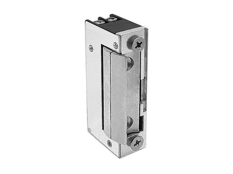 54.1.00.E, nízkoodběrový reverzní elektrický dveřní zámek, mini provedení, napětí 12 V DC, O&C