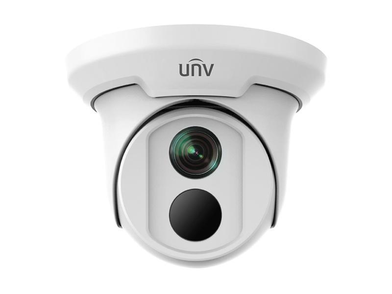 IPC3614SR3-DPF28, venkovní dome IP kamera 4Mpx, objektiv f2.8mm, IR 30m, WDR, Uniview