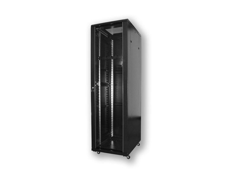 A2.8642.901, 800x600 mm - 42U, skleněné dveře