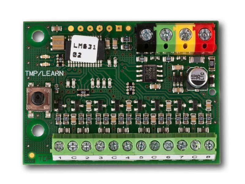 JA-118M, sběrnicový modul pro připojení magn. kontaktu
