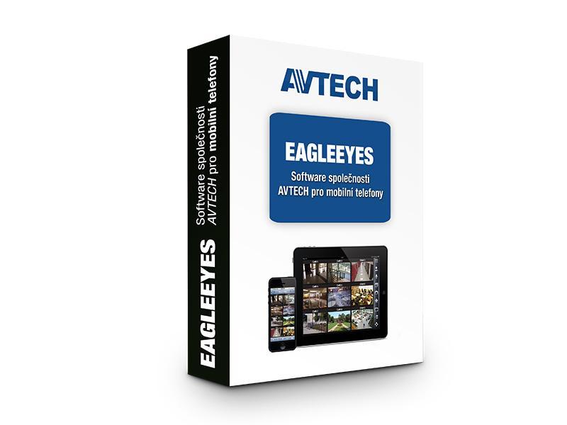 EagleEyes, software společnosti AVTECH pro mobilní telefony