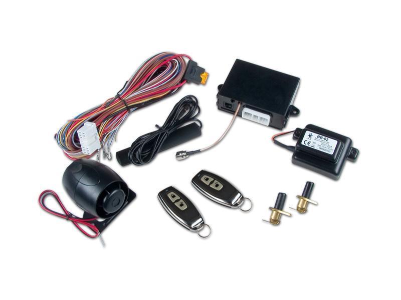 CA-1802 ATHOS, Sada autoalarmu s GSM modulem, ovládání vlastním DO nebo orig. centr. zamykáním, GPR