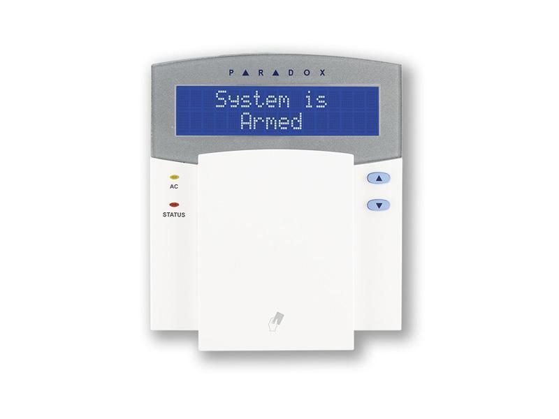 K641R LCD, LCD klávesnice se zabudovanou čtečkou pro EVO Digiplex Paradox