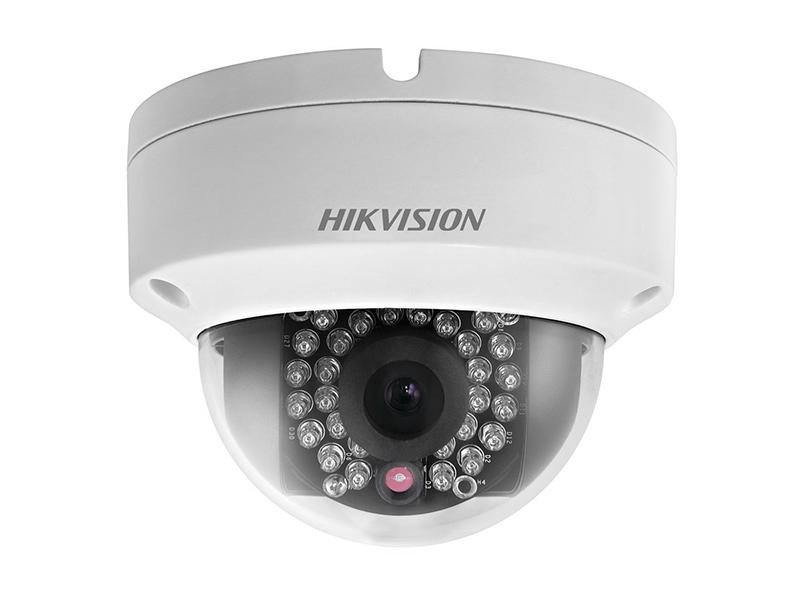 DS-2CD2142FWD-IWS, venkovní antivandal dome IP kamera 4Mpx, f2.8mm, IR 30m, WiFi, WDR, Hikvision
