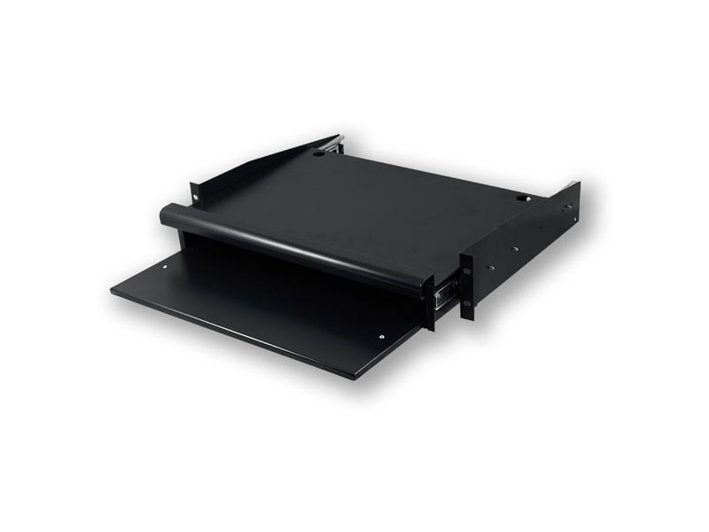 """SA.0022.001, 19""""polička pro klávesnici a myš, 350 mm"""