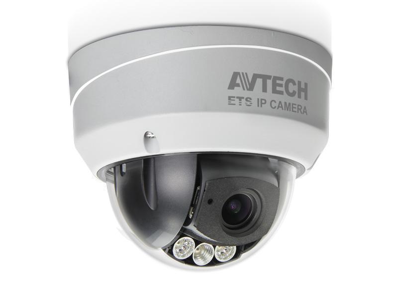 AVM-542, venkovní DOME antivandal IP kamera AVTECH 2Mpx WDR Solid Light