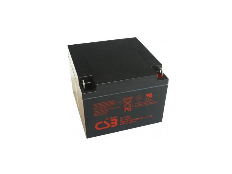 Akumulátor 12V/ 26Ah, rozměr: DxŠxV = 166x175x125 mm