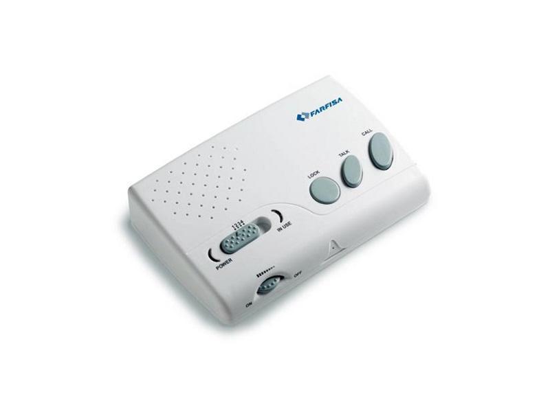 1006, bezdrátový interkom, přenos po síti 230VAC