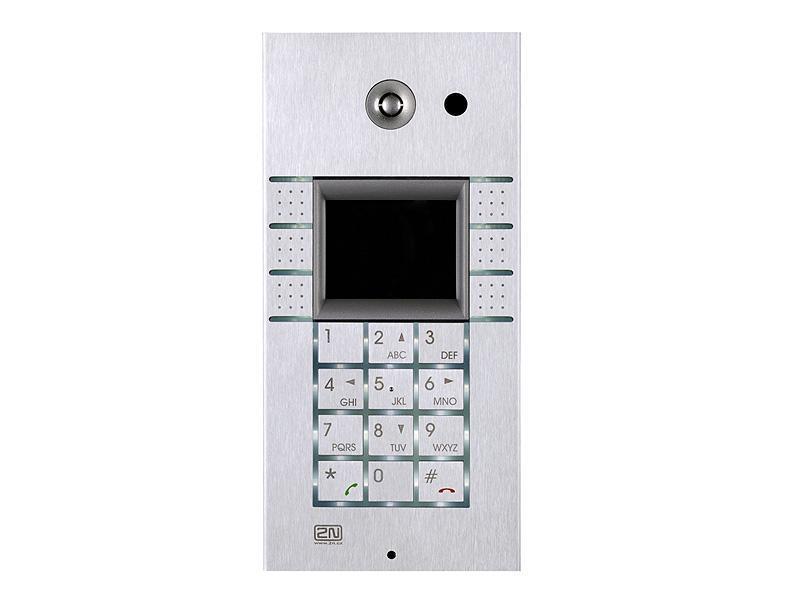 9137160KDU, 2N Helios IP Vario, 3x2 tlačítka + klávesnice + displej