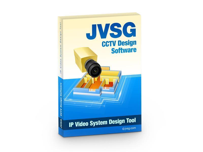 JVSG-IP Video System Design Tool, software pro návrhy kamerových systémů