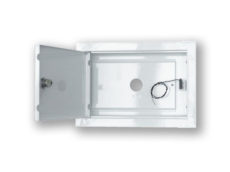 Box KZ, pro klávesnice LED/LCD zápustný do zdi, š 250 x v 161 x h 58 mm