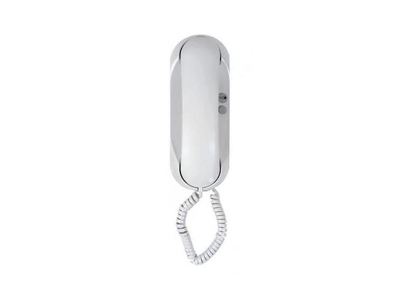 4FP 211 22.201, Domácí telefon ESO s elektronickým vyzváněním (bez bzučáku) - (bílý)