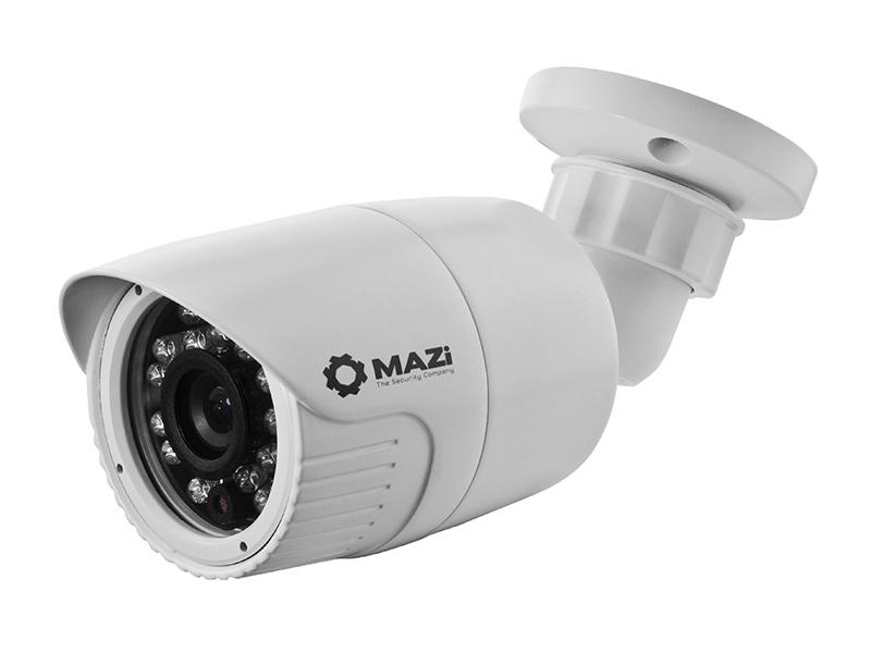 TWN-11SMIR, venkovní kompaktní HD TVI kamera 1.2Mpx, HD 960p, objektiv f3.6mm, IR 20m, MAZi