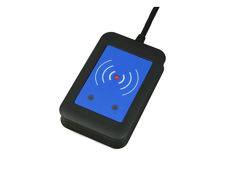 9137421E, 2N Helios IP - externí RFID čtečka 13.56MHz + 125kHz (USB rozhraní)