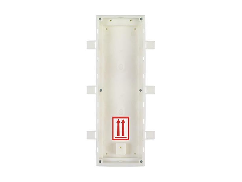 9155016, 2N Helios IP Verso - zápustná krabice pro instalaci do zdi, 3 moduly