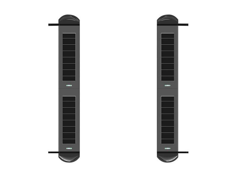 SA-W001P4, bezdrátová infrabariéra se 4 senzory a integrovanou sirénou, System Alarm