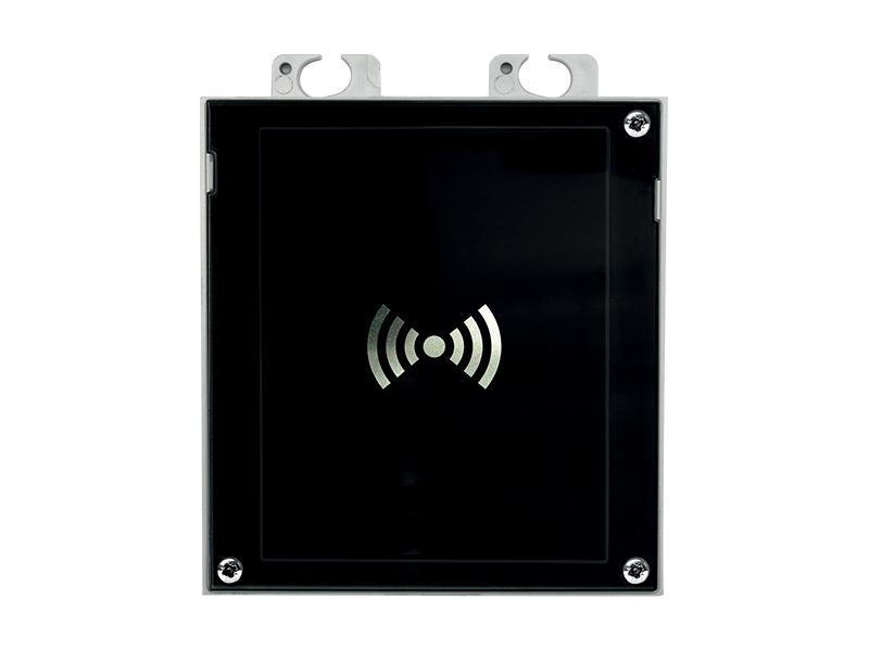 9155042, 2N Helios IP Verso - 13.56MHz čtečka zabezpeč. karet, NFC, čte UID + PACS ID