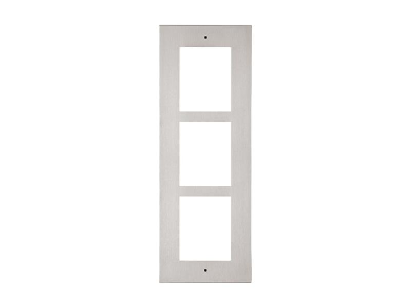 9155013, 2N Helios IP Verso - rám pro zápustnou instalaci do zdi, 3 moduly