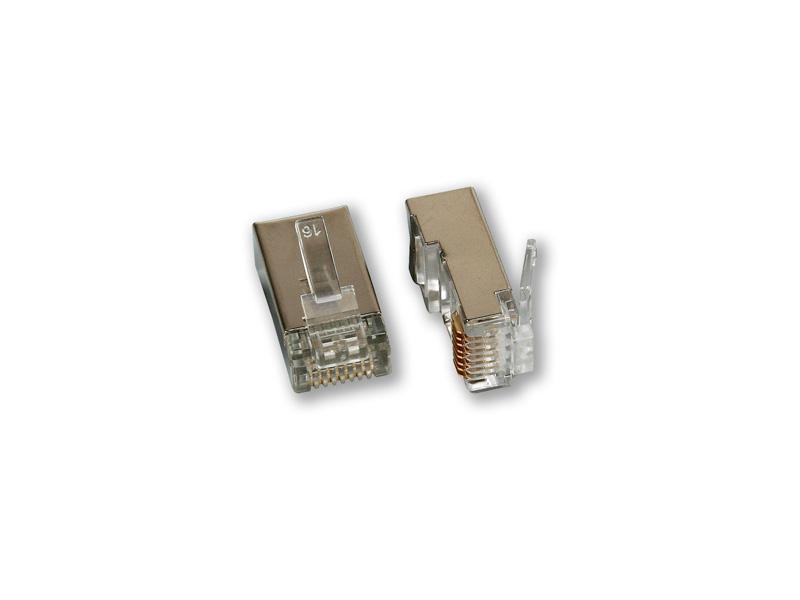 MP-070 C5/S, konektor CAT5 8P8C/stíněný - balení 10ks