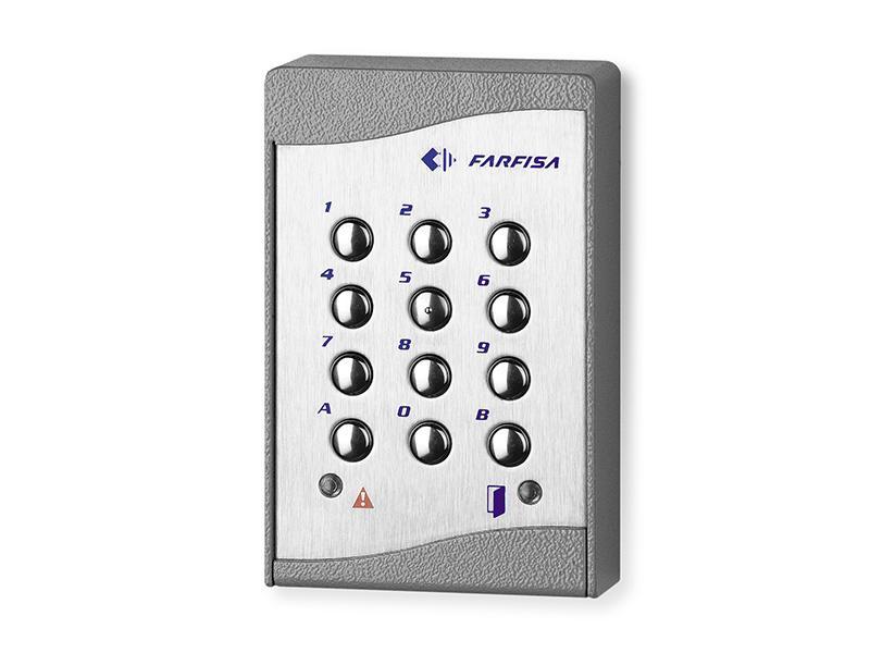 FC42, autonomí kódová klávesnice antivandal, povrchová montáž