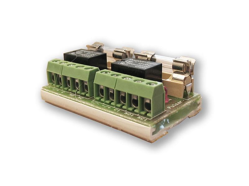 RELE modul PU 2, přídavný RELÉ modul 2 vstupy/výstupy