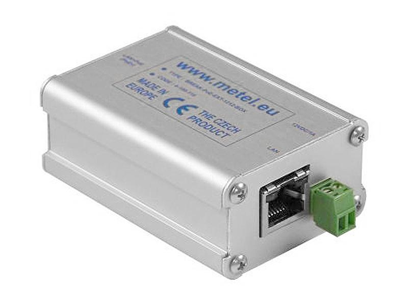 POE-EXT-1212-BOX, PoE extraktor s výstupním napětím 12 V DC / 1 A, podpora PoE Plus