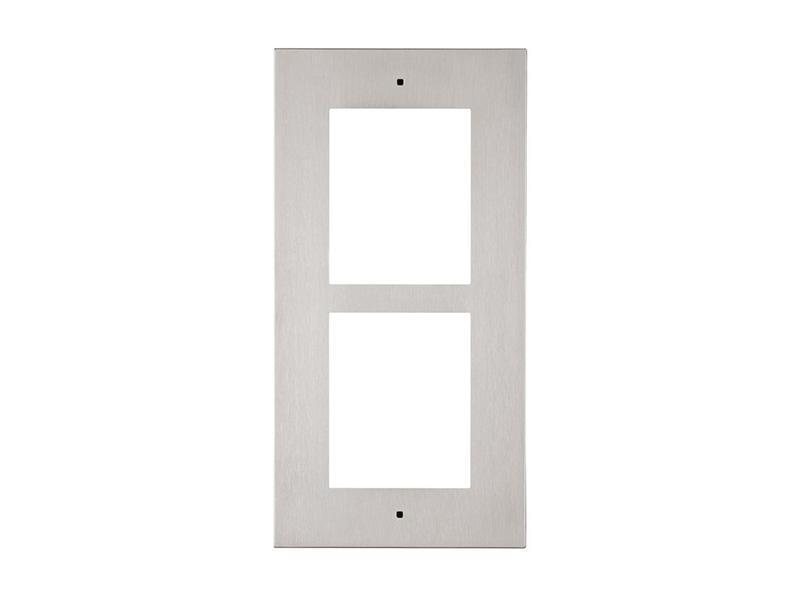 9155012, 2N Helios IP Verso - rám pro zápustnou instalaci do zdi, 2 moduly