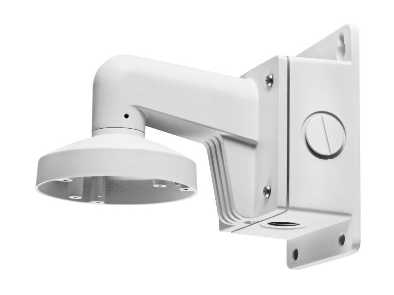 DS-1272ZJ-120B, stěnový držák s montážním boxem pro mini dome kamery, průměr 120mm, Hikvision