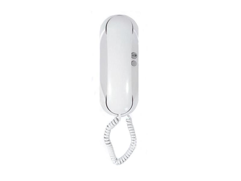 4FP 211 21.201, Domácí telefon ESO s bzučákem s 1 tl. na EZ (bílý)