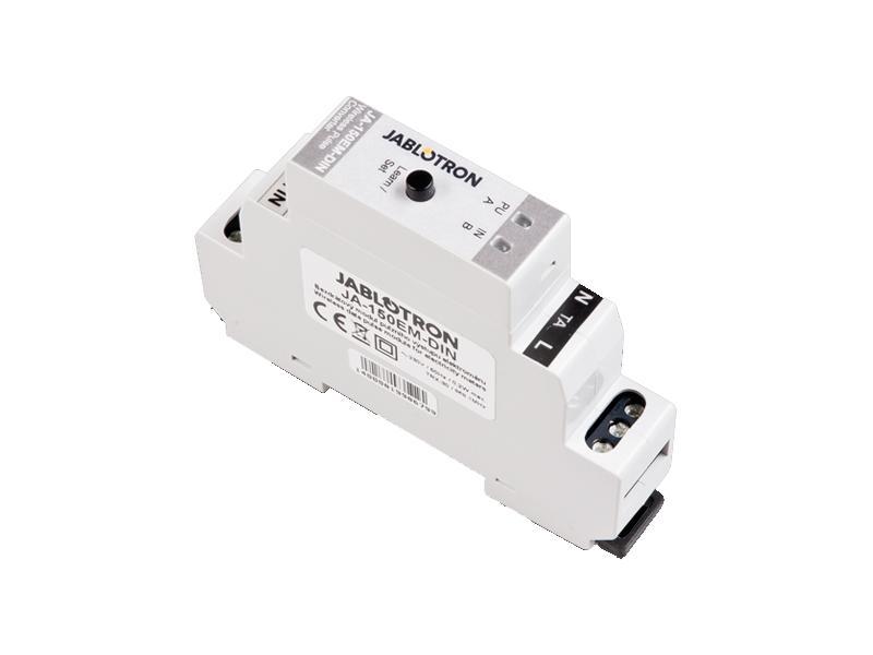 JA-150EM-DIN, bezdrátový modul pulzního výstupu elektroměru