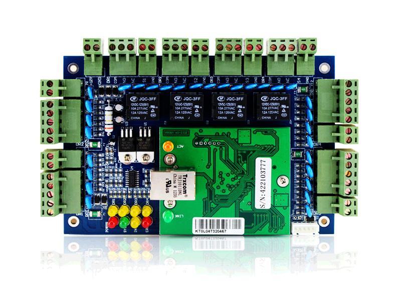 ACB-004, TCP/ IP přístupový modul pro až 4 dveře, Wiegand 26bit