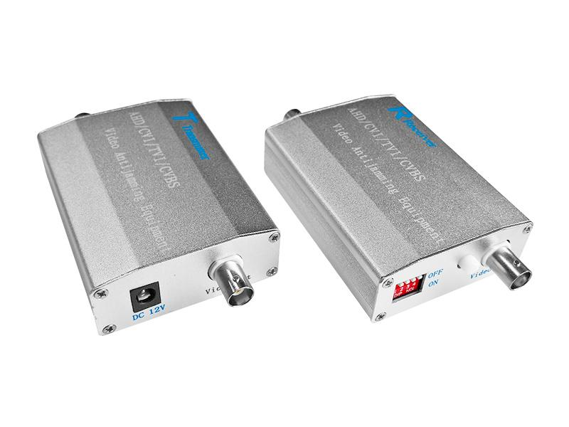 RX-1203, aktivní galvanický oddělovač AHD/TVI/CVI/CVBS videosignálu - stabilizátor obrazu, RXTEC
