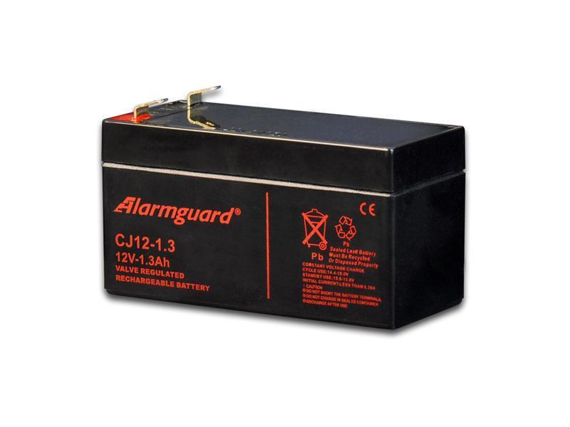 Akumulátor 12V/ 1,3 (1,2) Ah, rozměr: DxŠxV = 97x43x57 mm