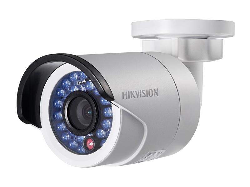 DS-2CD2020F-I, venkovní kompaktní mini IP kamera 2Mpx, objektiv f4mm, IR 30m, D-WDR, Hikvision
