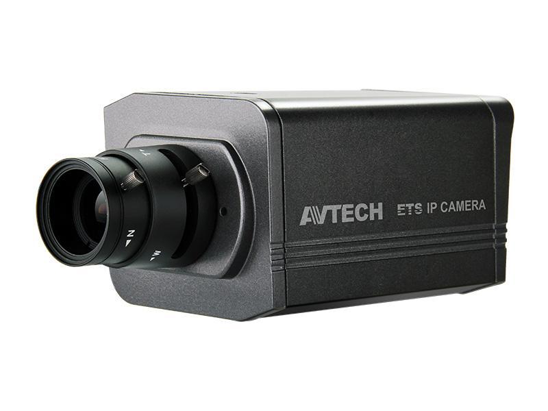 AVM-500, vnitřní BOX IP kamera AVTECH, 2 Mpx, WDR