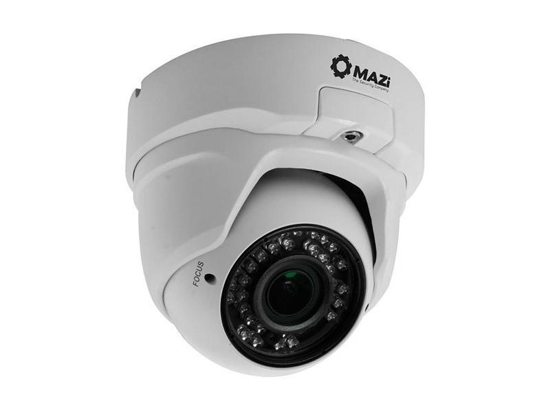 TVN-21SMVR, venkovní varifokální antivandal dome HD TVI kamera, 2 Mpx 1080p, f2.8-12mm, IR 30m, MAZi