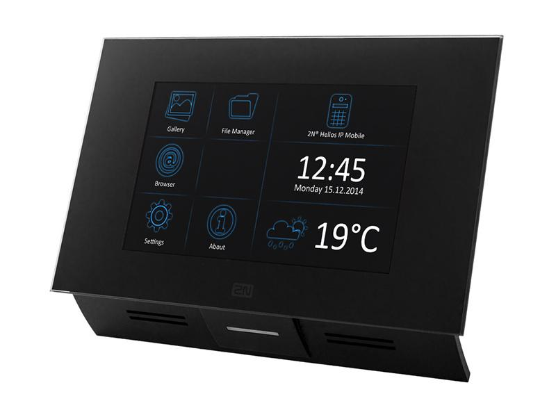 91378366, 2N Helios IP Indoor Touch WiFi, černá