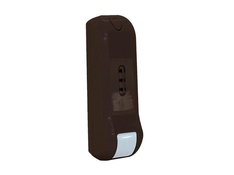 INF9457/UT, venkovní duální detektor PIR+MW, záclona, antimasking, prostor pro vysílač, hnědá barva