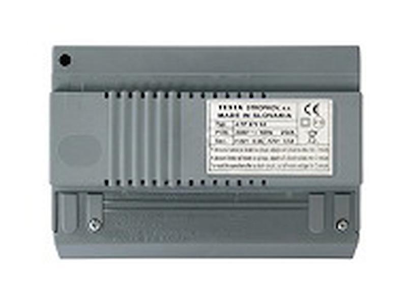 4FP 672 59, Síťový zdroj pro BUS VIDEO (18V/0,6A DC pro DVT a 9V/0,8A AC resp. 12V/0,8A DV pro EZ)