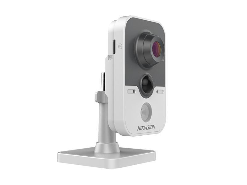 DS-2CD2442FWD-IW/4, vnitřní IP kamera 4Mpx, f4mm, IR 10m, WDR, WiFi, PIR, alarm I/O, Hikvision
