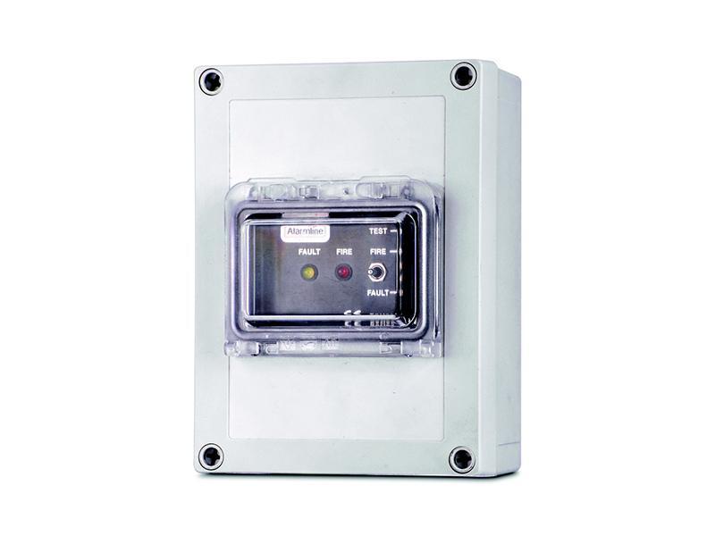 Analogová jednotka LHD, analogová lineární teplotní detekce