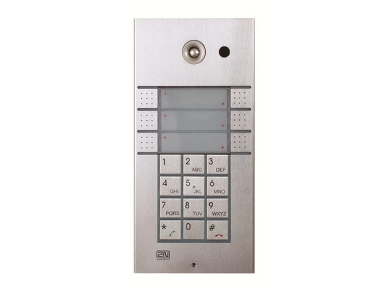 9137161KU, 2N Helios IP Vario, 3x2 tlačítka + klávesnice