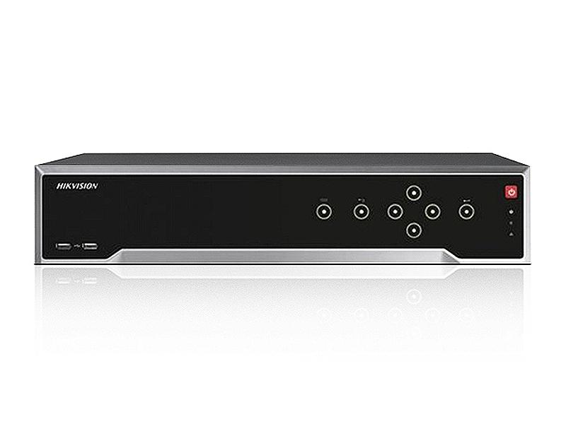 DS-7716NI-I4/16P, NVR pro 16 IP kamer (160/256 Mbps), až 12Mpx, 4x SATA, 16x PoE, RS-485, Hikvision