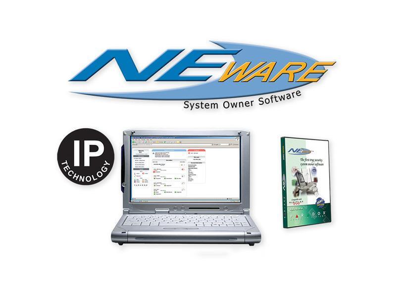 NEWARE IP ACCESS, software pro uživatelskou správu ústředen DIGIPLEX EVO