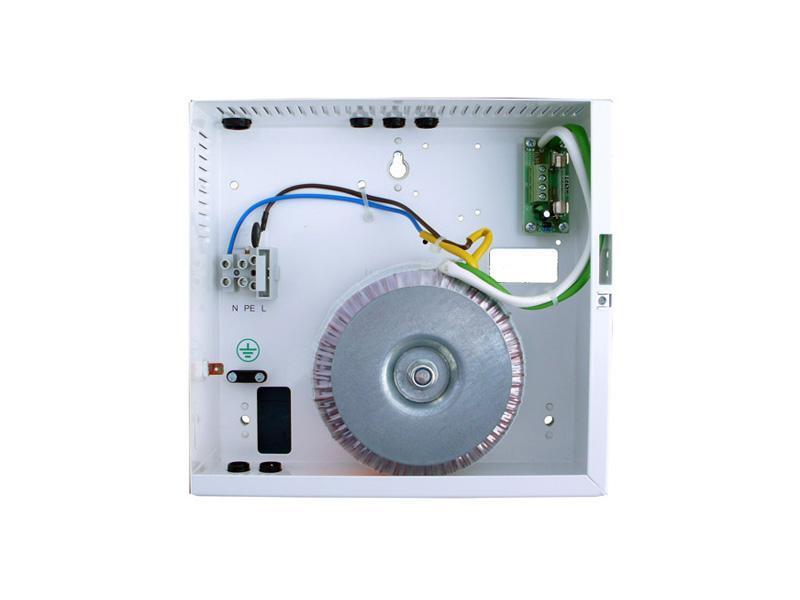 TR24300, transformátor v krytu 24V 300VA (svorkovnice, signalizace, jištění)